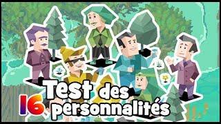 TEST DES 16 PERSONNALITÉS avec MOMIMOI