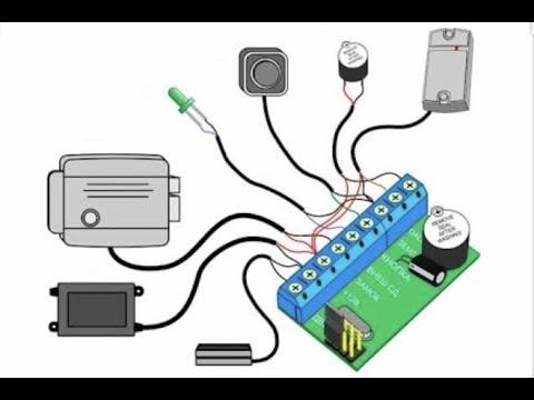 Установка контроллера Z-5r на электромеханический замок