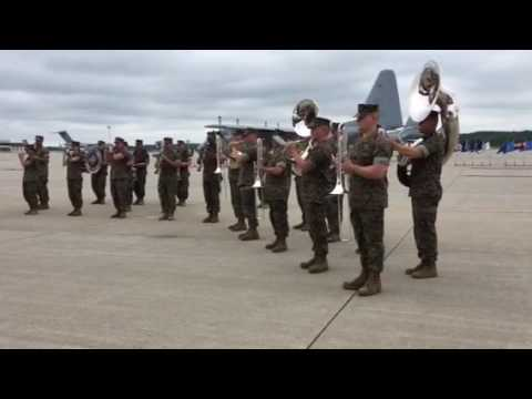 U.S. Marine Band New Orleans plays The Stars and Stripes Forever - 17 June 2017