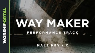 Way Maker - Male Key of C - Performance Track