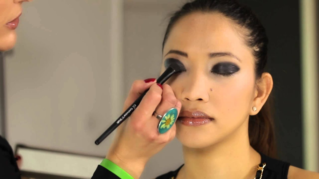 How To Apply Smokey Eyes For Asian Woman  Beauty Maven - Youtube-8587