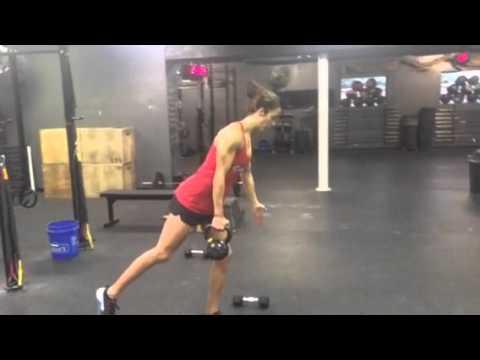 Crossfit Hendersonville Single Leg Kb Deadlift Youtube