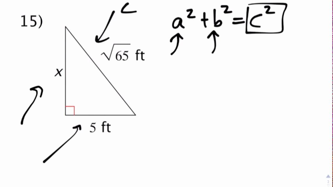 Pre Geometry Summer 2017 Packet #1 Video Walkthrough