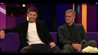 Jose Mourinho vs Steven Gerrard, Gerrard tells clarebalding of his respect for