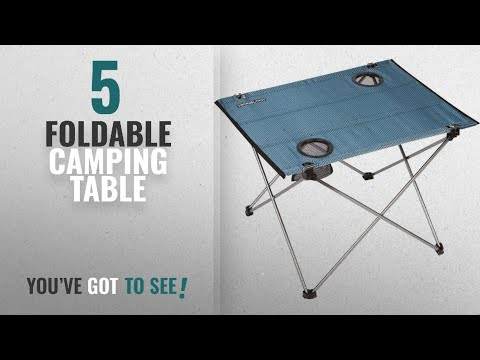 Top 5 Foldable Camping Table [2018]: Trekology Foldable Camping Picnic Tables - Portable Compact