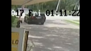 Police released video of the June 9th crash which shows tennis star...