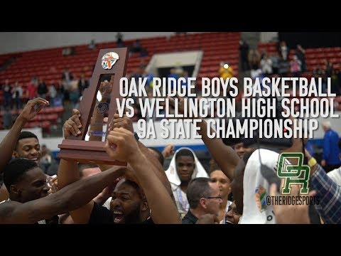 Oak Ridge Boys Basketball vs Wellington - State Championship