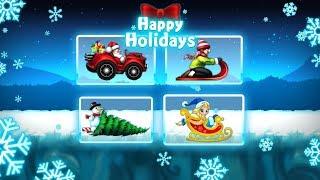Noel Arabası Yarış Oyunu - Hapy Holiday Noel Fun Race - Tniy Lab Games - Bıcır Game Channel