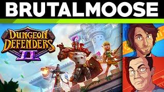 Dungeon Defenders II w/ SpaceHamster and Balrog - sponsoredmoose