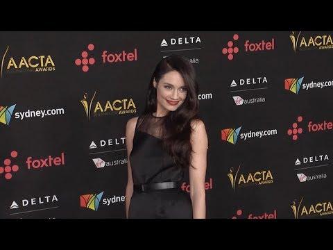 Mallory Jansen at 2018 AACTA International Awards