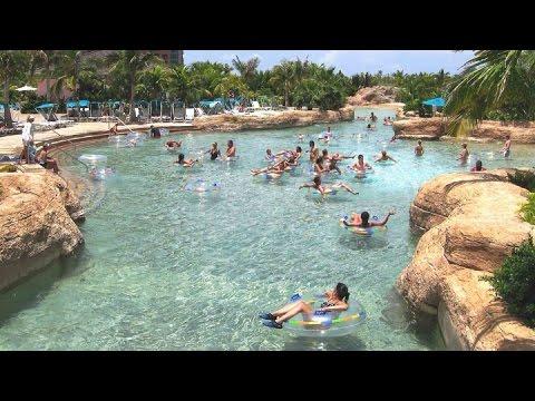 Atlantis Kid Friendly Pools Bahamas Youtube