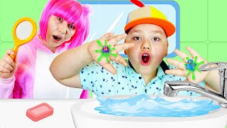 Wash, wash, wash your Hands | Healthy Habits Song | Kids Songs by GumGumChiki