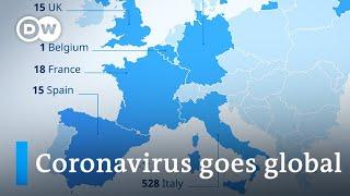 Coronavirus on every continent except Antarctica | DW News