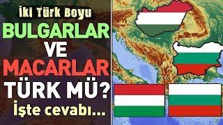 Bulgarlar ve Macarlar Türk mü?