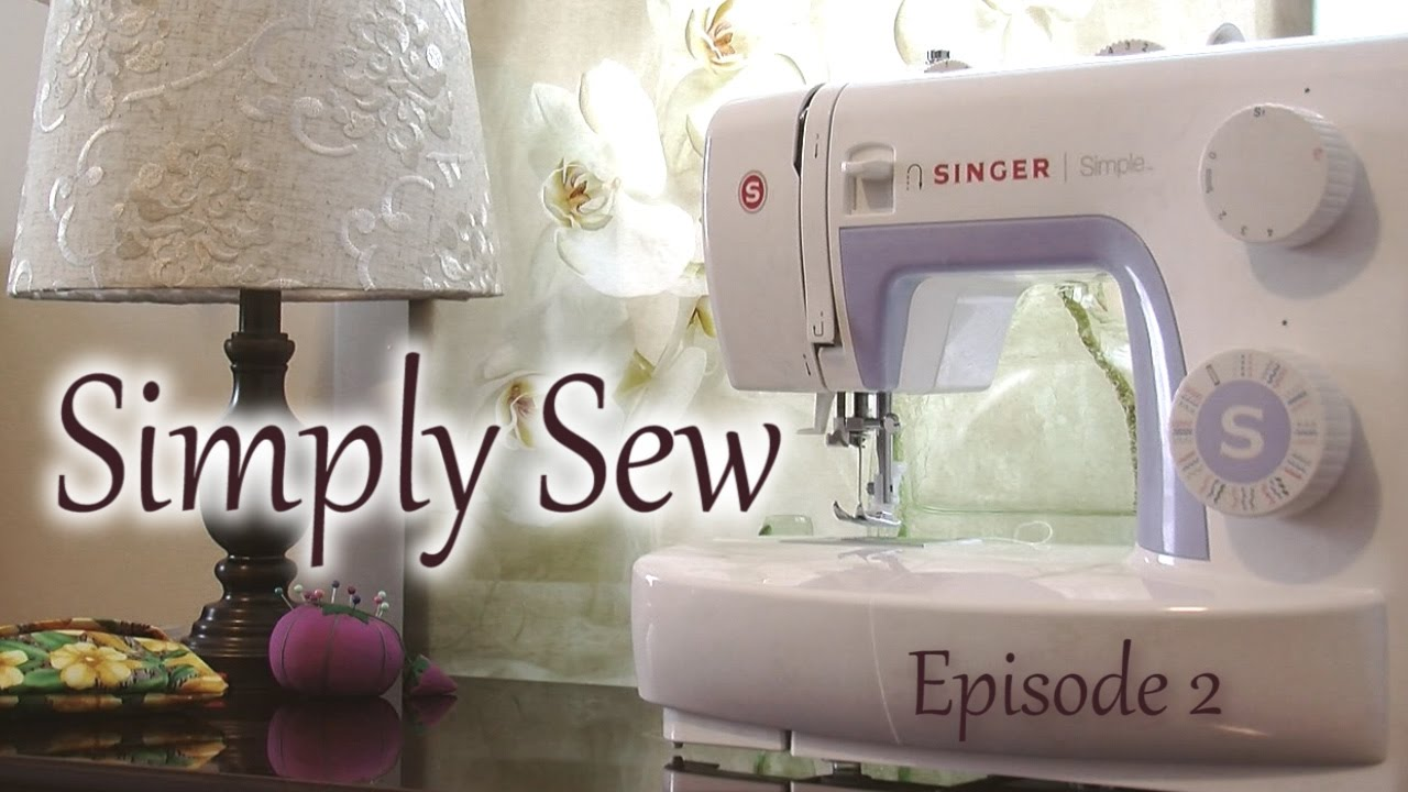 Simply Envogue Decorative Pillow : Simply Sew: Throw Pillow 16X16 - YouTube