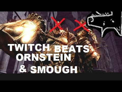Twitch Plays Dark Souls: Ornstein & Smough Defeated