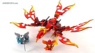 LEGO Chima Flinx's Ultimate Phoenix review! set 70221