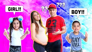 FINDING OUT THE GENDER OF OUR BABY *Prediction Test* | Jancy Family