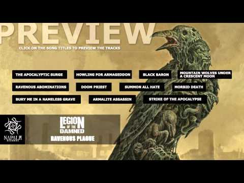 LEGION OF THE DAMNED -- Ravenous Plague (Preview)   Napalm Records