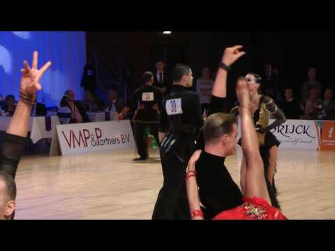 WDSF Vermeer Cup 2017 Almere Adults Open Latin Semi Final