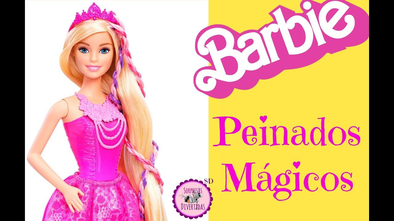 Barbie peinados magicos 2016