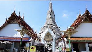 Wat Arun Bangkok Thailand - Ват Арун Храм Утренней Зари - Бангкок Таиланд - Впервые в Азии