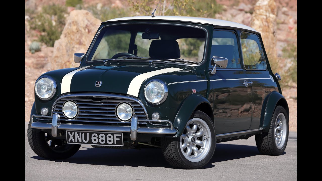 1968 Morris Cooper Mini 1000-Test Drive - Viva Las Vegas Autos - YouTube