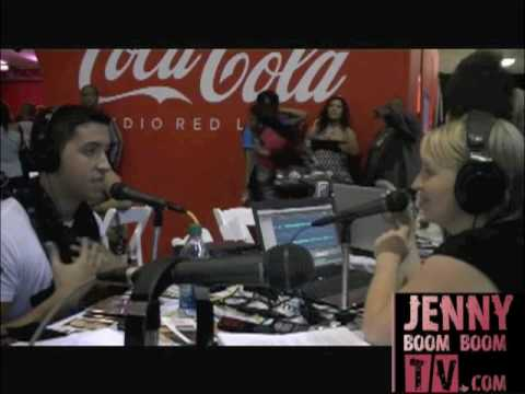 JENNY BOOM BOOM FROM HOT 93.7 INTERVIEWS COLBY O' DONIS!