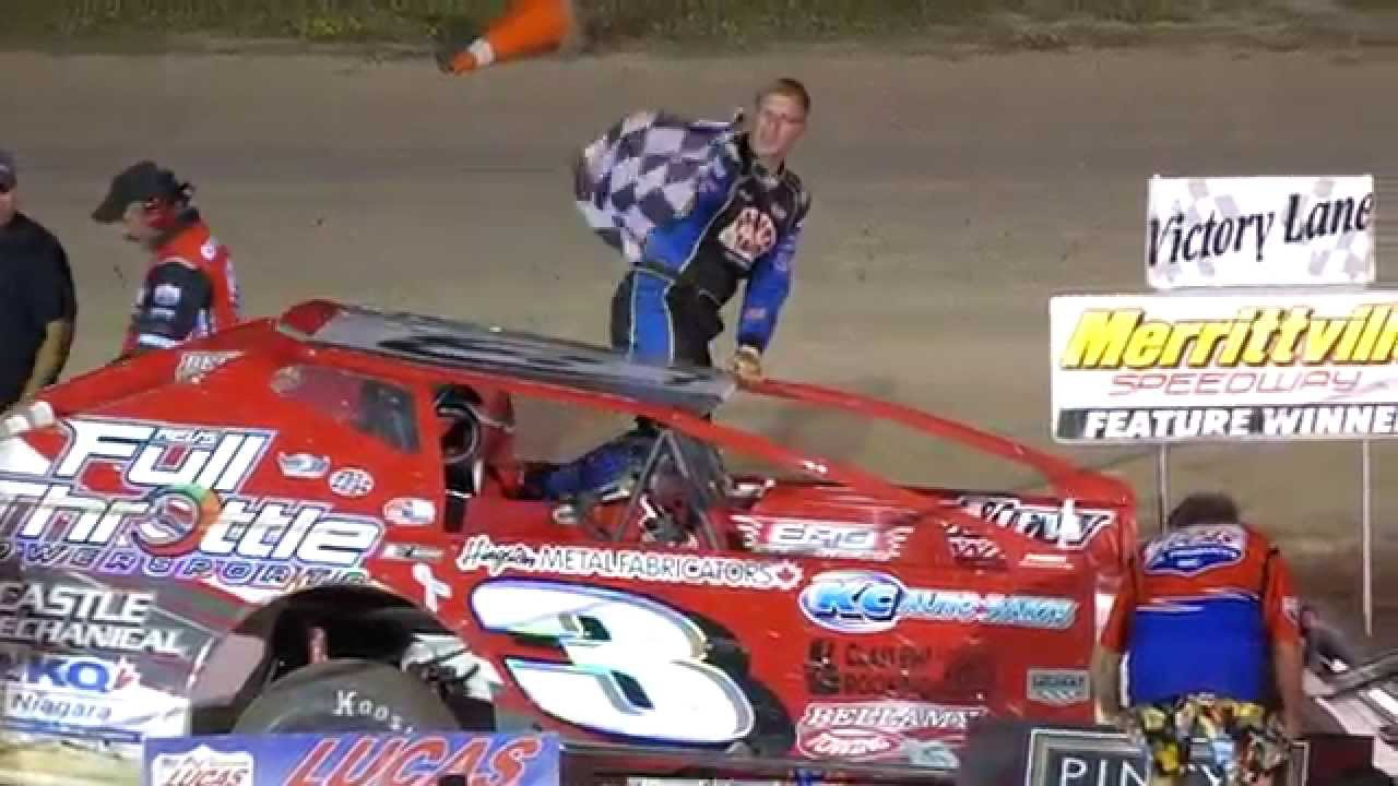 Merrittville - Modified Victory Lanes - 2015 - YouTube