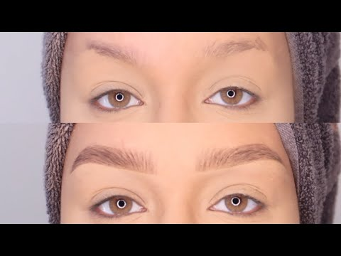 BEST EYEBROW TUTORIAL/HACK FOR SPARSE BROWS 2019