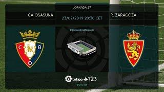 C.A. Osasuna - R. Zaragoza MD27 S2030