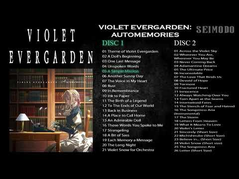 VIOLET EVERGARDEN - Automemories OST [DISC 1-2] - FULL OST [Video]
