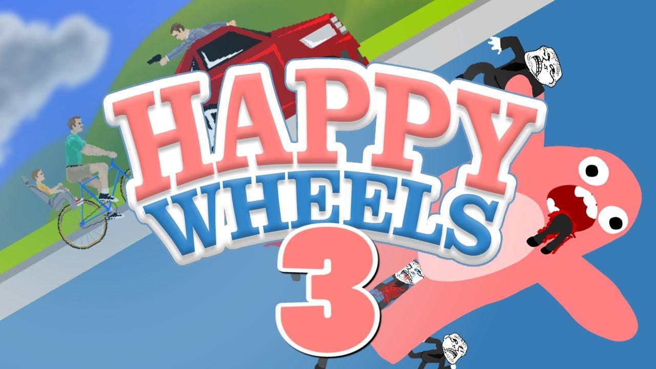 Happy Wheels na Shizie! - #3 - Porno by Robots - YouTube
