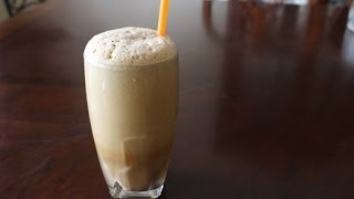 frappe: Greek style Iced Coffee/Dimtras Dishes episode 16