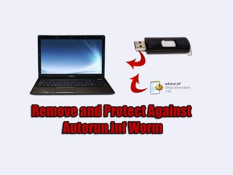 Remove and Protect Against Autorun.inf USB Worm