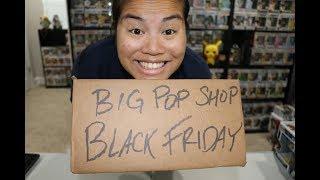 Big Pop Shop Black Friday Funko Mystery Unboxing x2