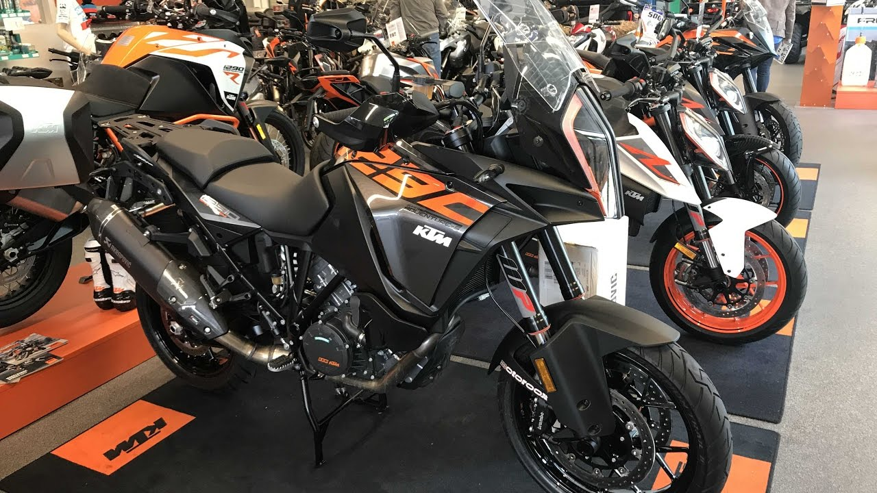 ktm 1290 super adventure s akrapovic new model 2017. Black Bedroom Furniture Sets. Home Design Ideas