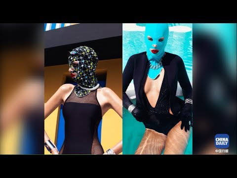 Facekini:From beachwear facial masks to the global fashion scene