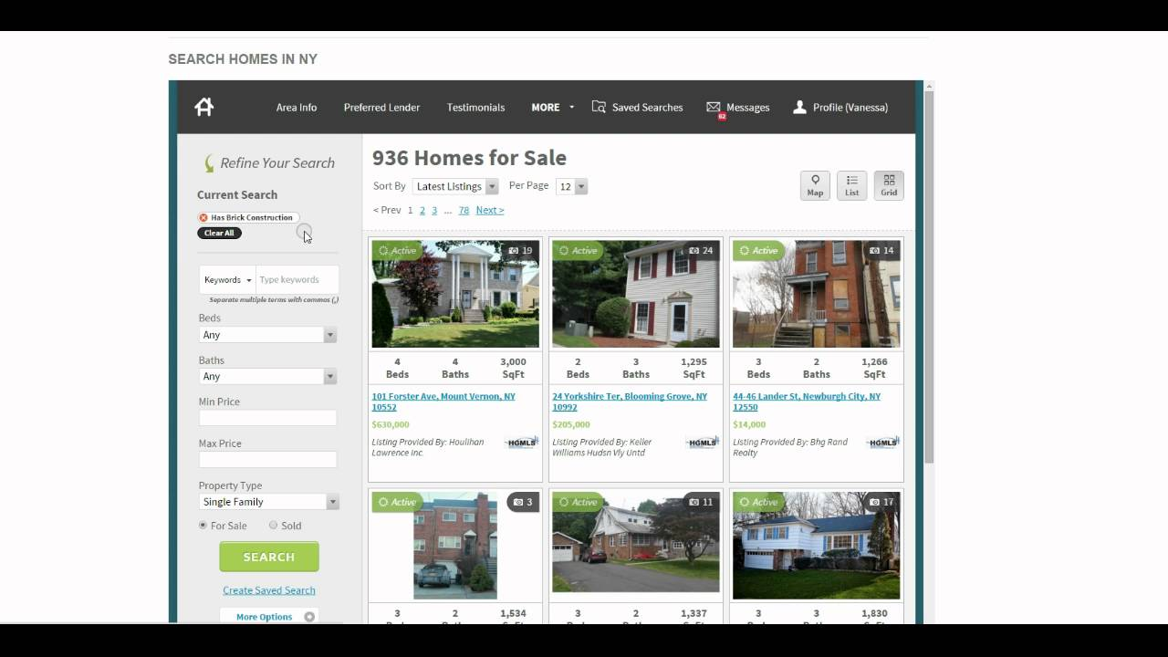Refining Your Home Search