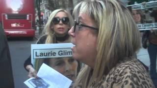 Protest Against New York Blood Center