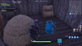Fortnite how to collect all the coins in 1 minute (OVERTIME CHALLENGE)