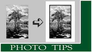 Photoshop Tip : How To Add A Basic Border To An Image