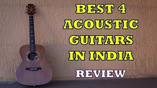 Best 4 Acoustic Guitars in India - Review [2019]