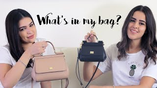 What's is in our Bag With Stylish Dubaians | ما الذي تحتويه حقيبة دانا وياسمين؟