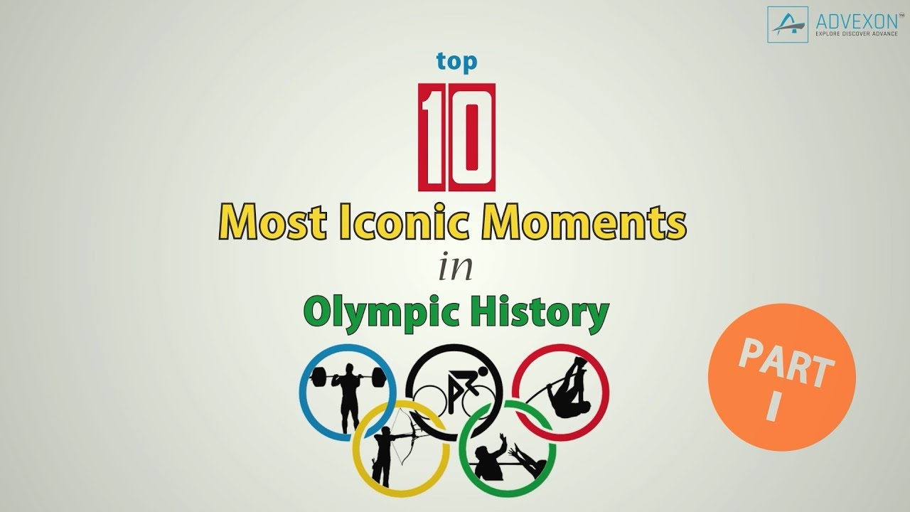 TOP 10 Most Iconic Moments In Olympic History (Part 1)