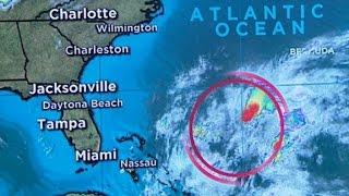 Tropical storm headed for South Carolina coast