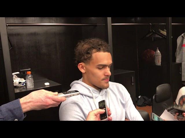 Atlanta Hawks Guard Trae Young Postgame Interview (2-29-20)