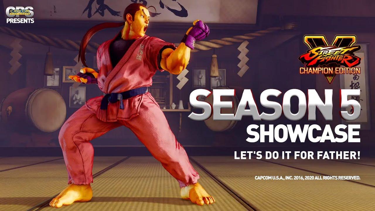 Street Fighter V Champion Edition - Season 5 Showcase Stream