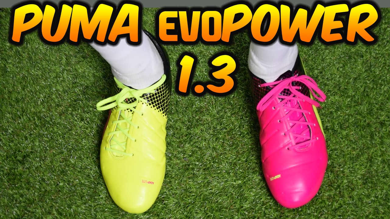 sale retailer 0ffa1 18110 PUMA evoPOWER 1.3 TRICKS (PINK, YELLOW   BLACK) REVIEW + On-feet
