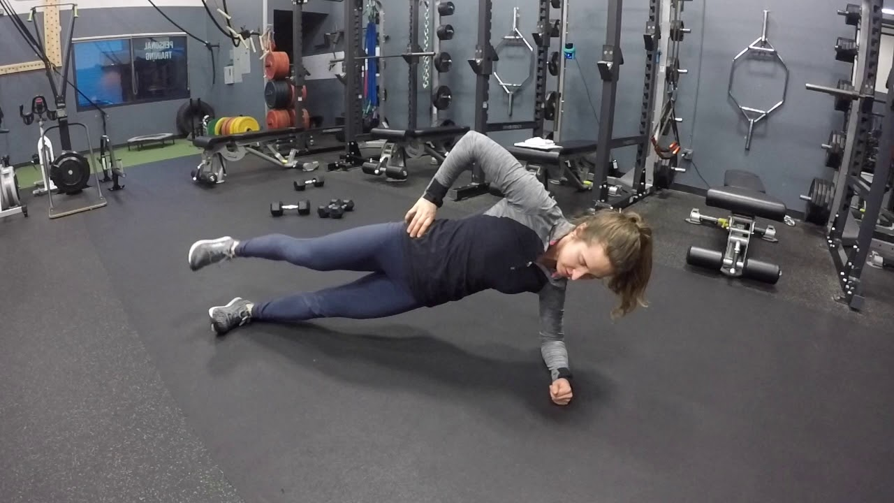 Side Plank Hip Lifts - YouTube